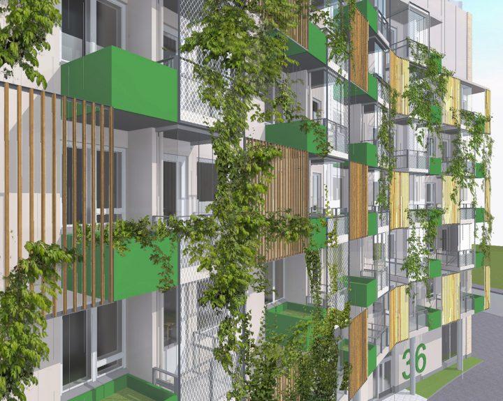The Greenest Block of Flats