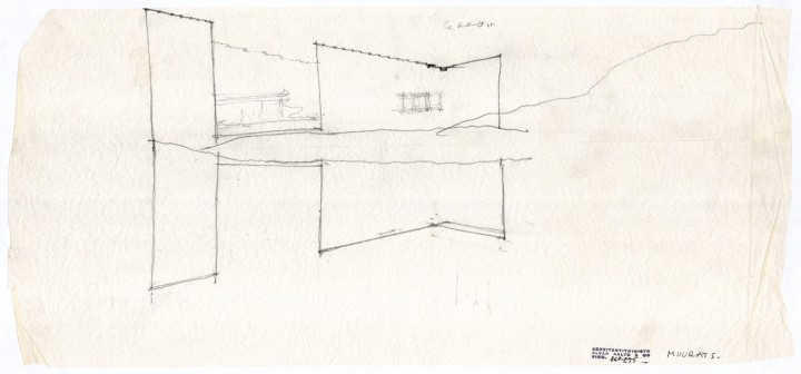 Sketch, Muuratsalo Experimental House