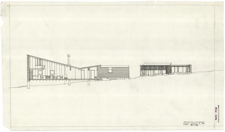 Section, Muuratsalo Experimental House