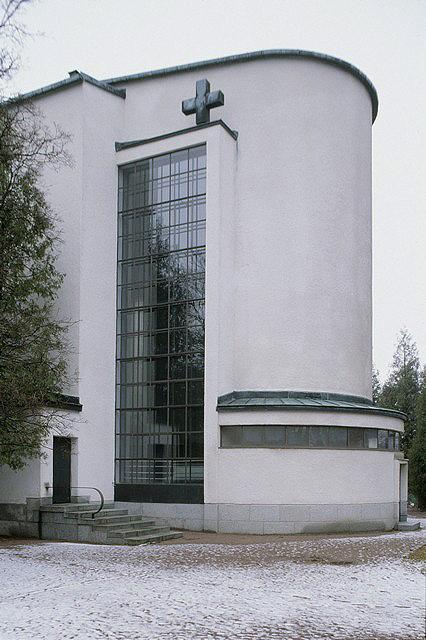 Detail of the façade, Nakkila Church