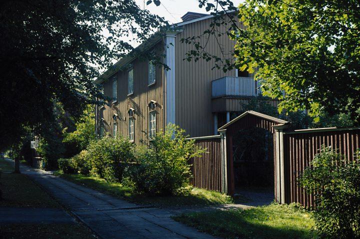 Pohjolankatu street view, Puu-Käpylä Wooden House Area