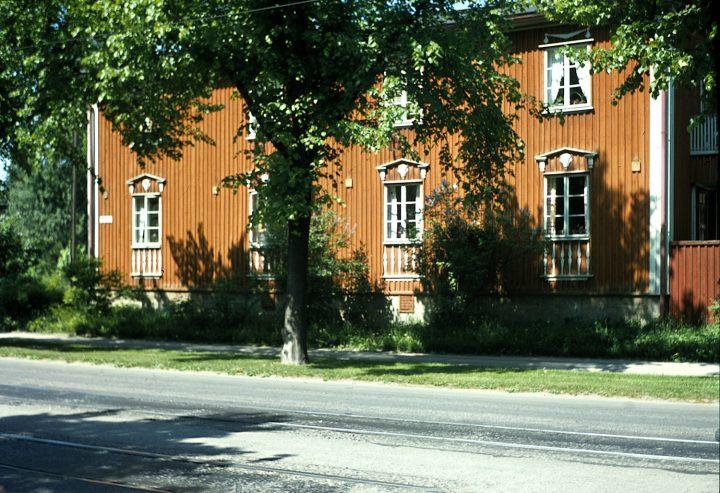 Wooden house in Pohjolankatu, Puu-Käpylä Wooden House Area