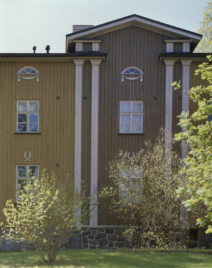 Pellervontie 10 façade, Puu-Käpylä Wooden House Area