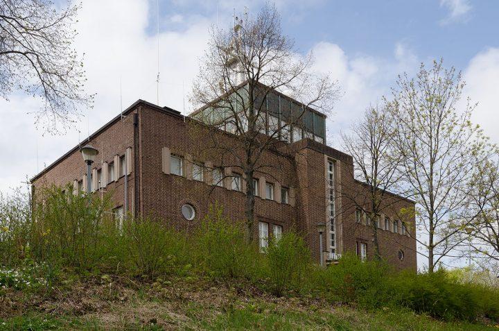 Main façade, Mariehamn Navigation School