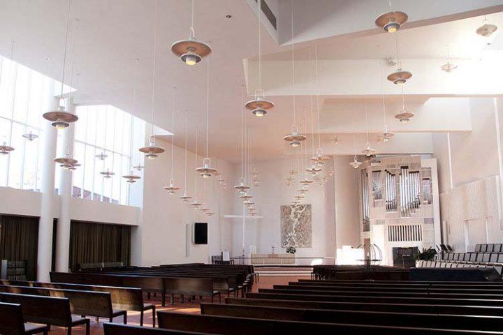 Main assembly plan, Olari Church