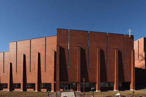 South elevation, Olari Church