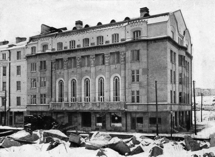 The student union building photographed in 1912, Ostrobotnia Student Association Building