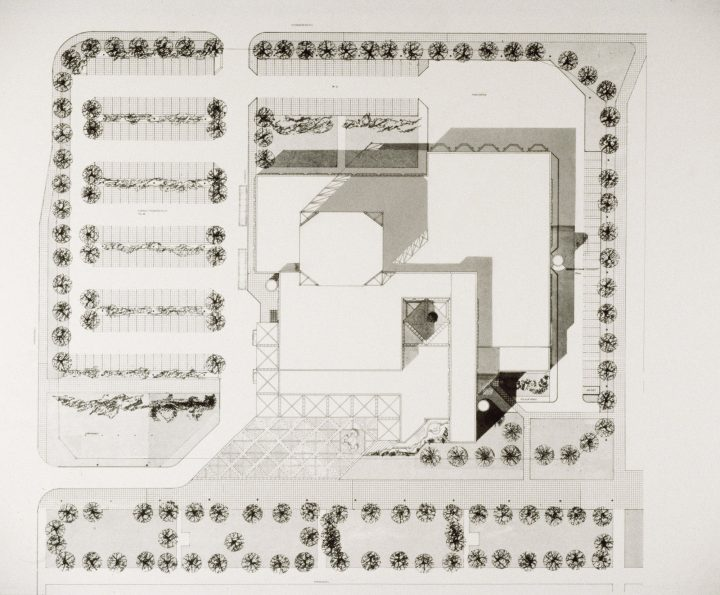 Site plan, Lahti City Theatre
