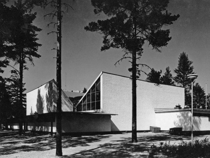 Street elevation, Tapiola Co-educational School