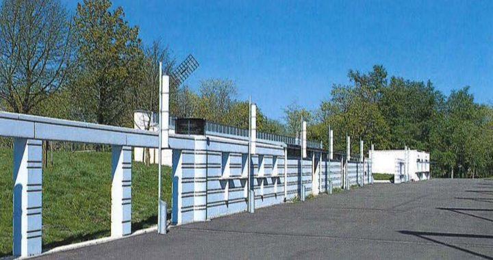 The kiosks and toilets, Paavo Nurmi Stadium