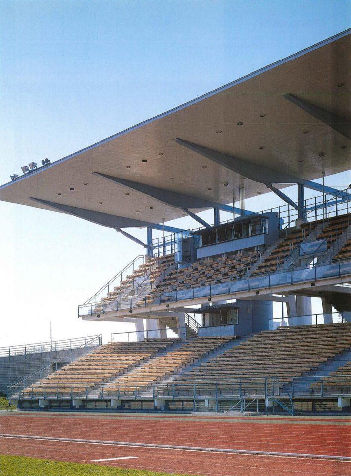 Grand stand, Paavo Nurmi Stadium