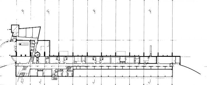 Basement floor, Paavo Nurmi Stadium