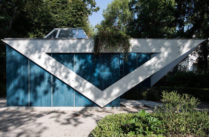 Western elevation, Aalto Pavilion
