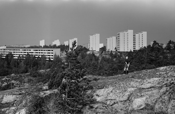 Pihlajamäki in 1965, Pihlajamäki Residential Area