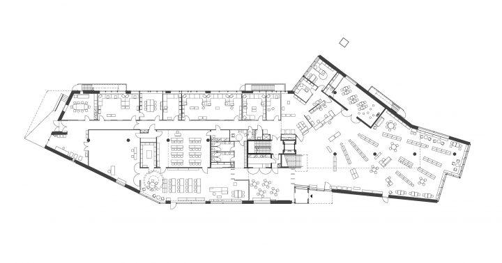 Ground floor, Lohja Main Library