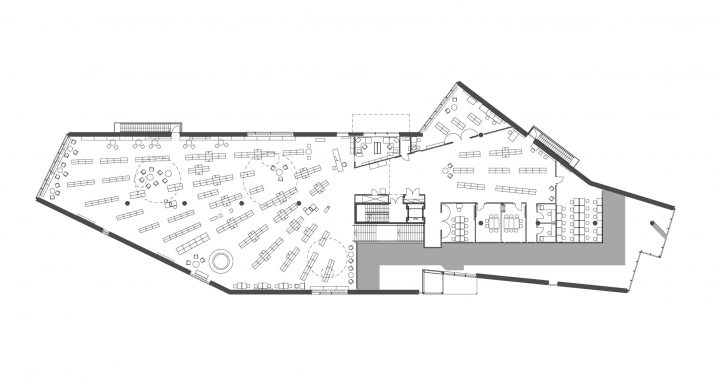 1st floor, Lohja Main Library