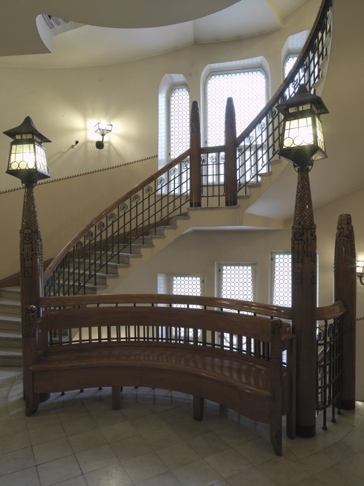 A stairway, Pohjola Insurance Company
