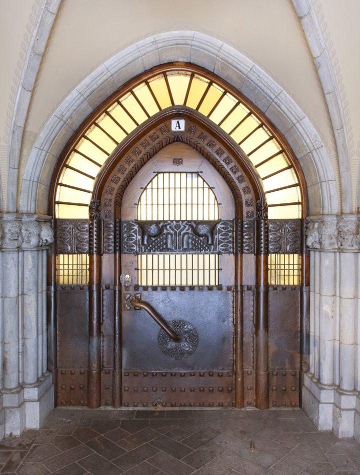 A decorative entrance, Pohjola Insurance Company