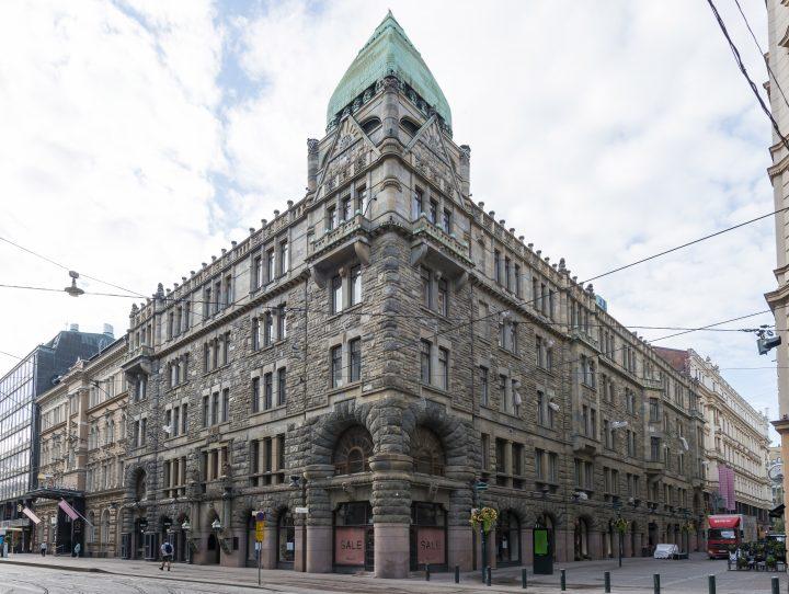 The street façade, Pohjola Insurance Company