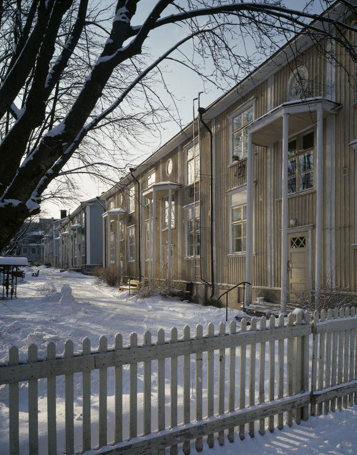 Keuruuntie wooden houses, Puu-Vallila Wooden House District