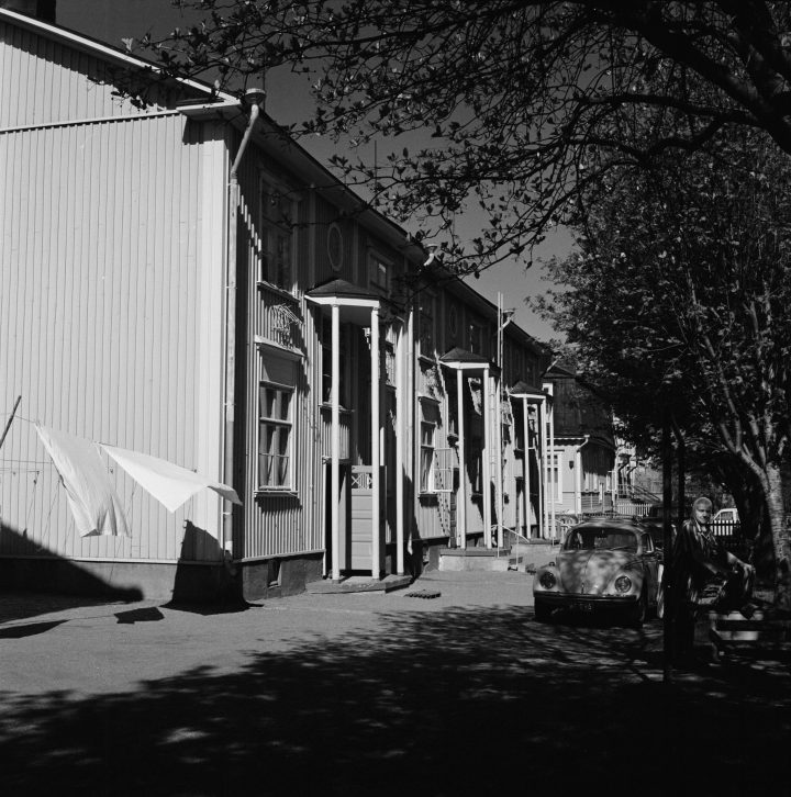 Wooden houses in the 1970s, Puu-Vallila Wooden House District