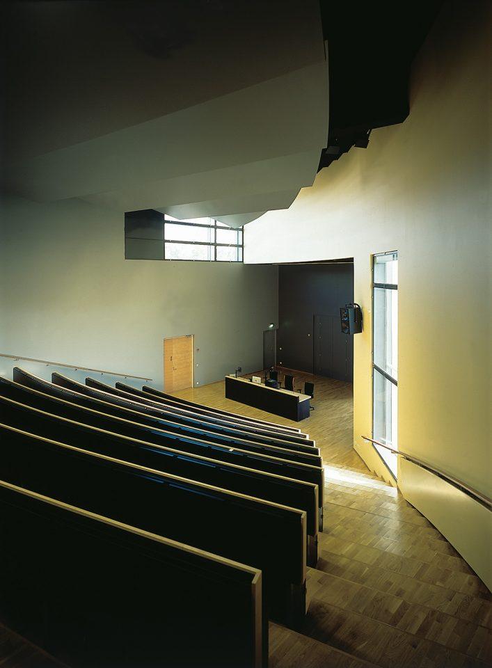 Auditorium, Raisio Library and Auditorium