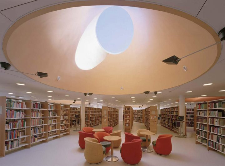 Lantern, Rauma Main Library
