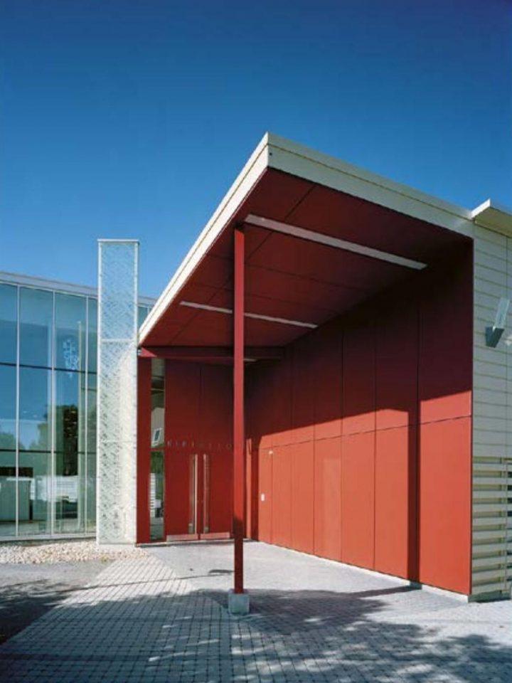 Main entrance, Rauma Main Library