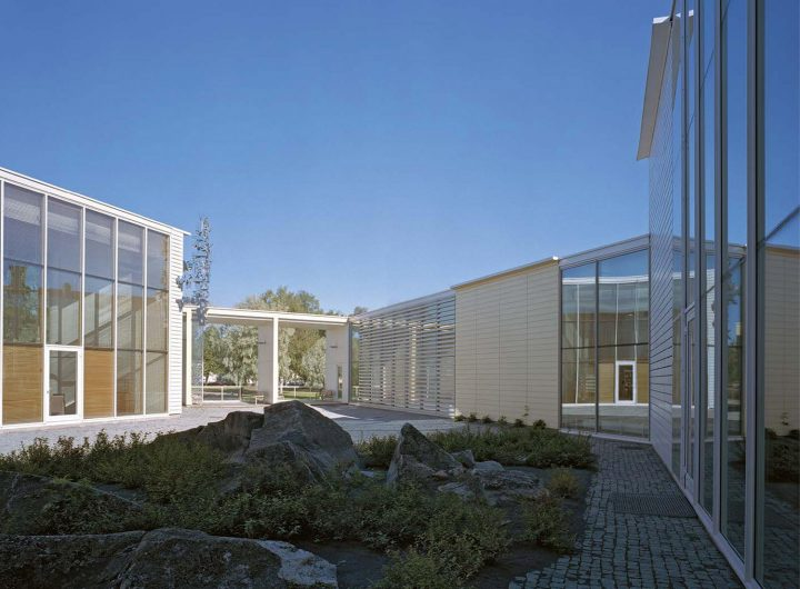 Courtyard, Rauma Main Library