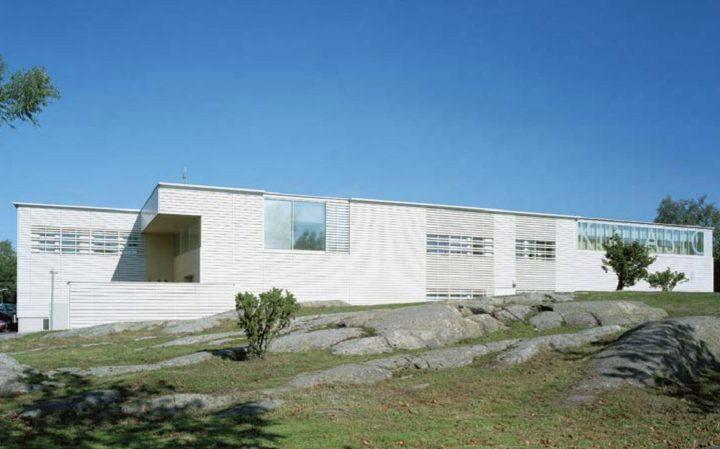 South elevation, Rauma Main Library