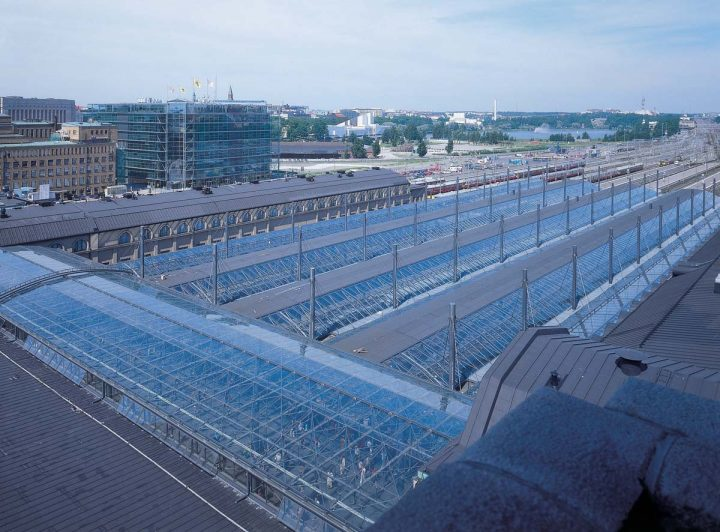 Platform roofing by Esa Piiroinen, 2001, Central Railway Station
