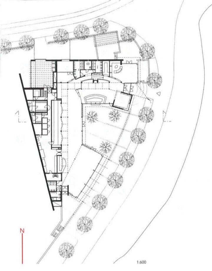 Floor plan, Restaurant Töölönranta