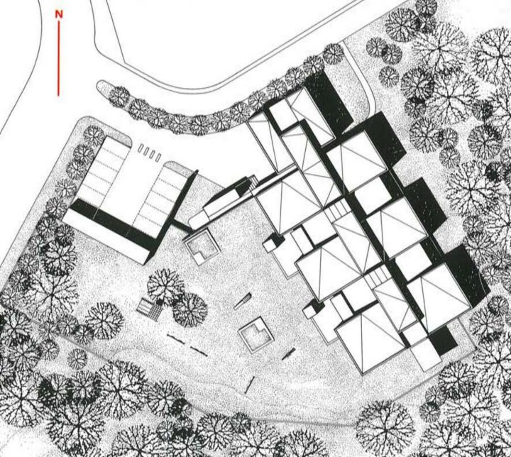 Site plan, Ruokopilli Daycare Centre