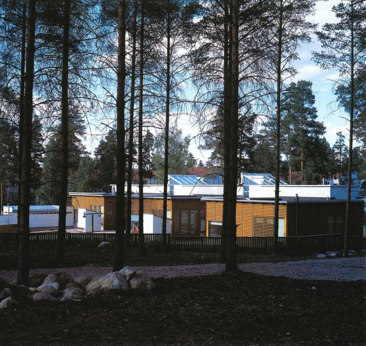 View from south, Ruokopilli Daycare Centre