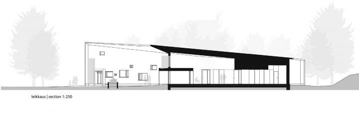 Section plan , Ruukki Healthcare Centre