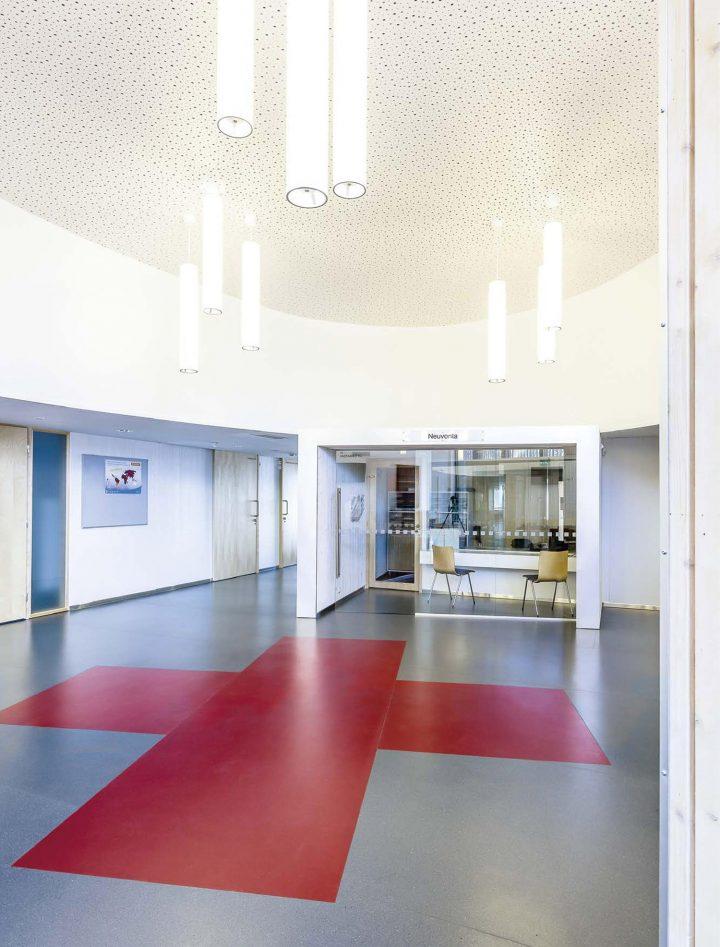 Lobby, Ruukki Healthcare Centre