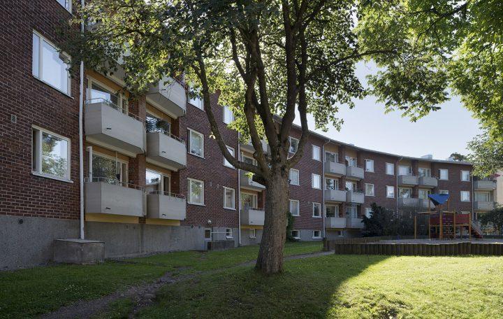 Paanutie 10 yard façade, Sahanmäki Residential Area