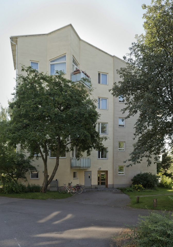 Rajametsäntie 29 - 31 point block, Sahanmäki Residential Area