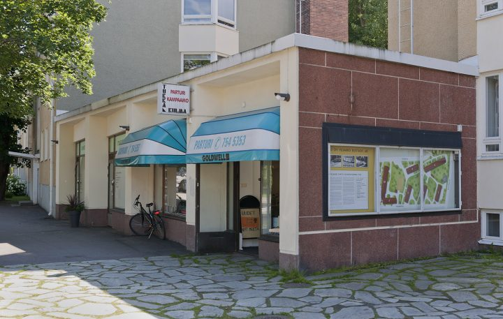 Vesakkotie 7 / Männikkötie10 commercial premises , Sahanmäki Residential Area