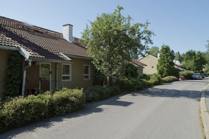 Pirttipolku 12 row houses, Sahanmäki Residential Area