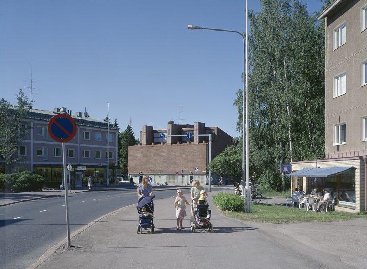 Metsäpurontie street view, Sahanmäki Residential Area