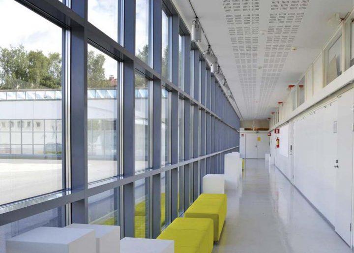 Art class corridor, Sampola