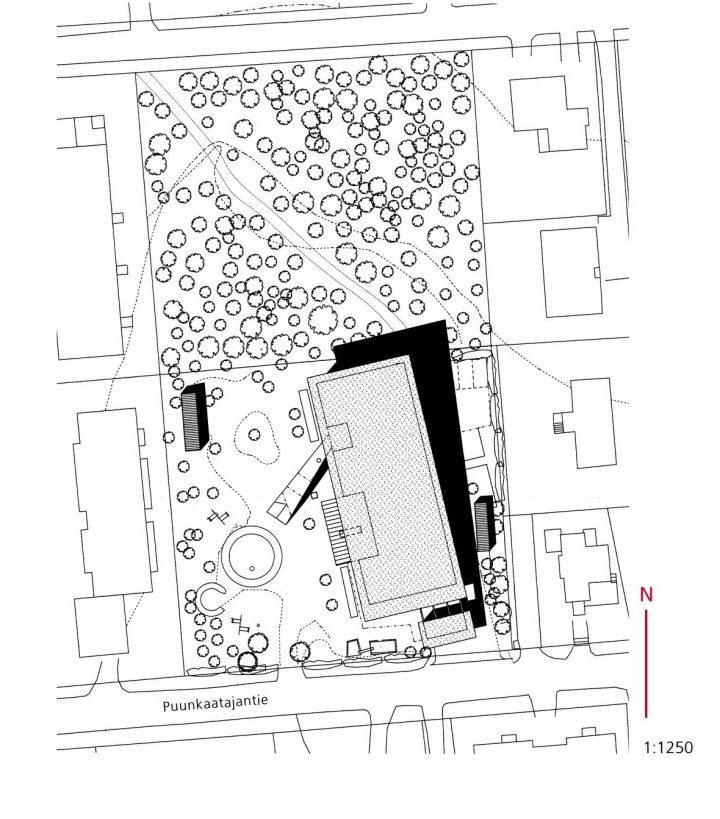 Site plan, Savotta Daycare Centre