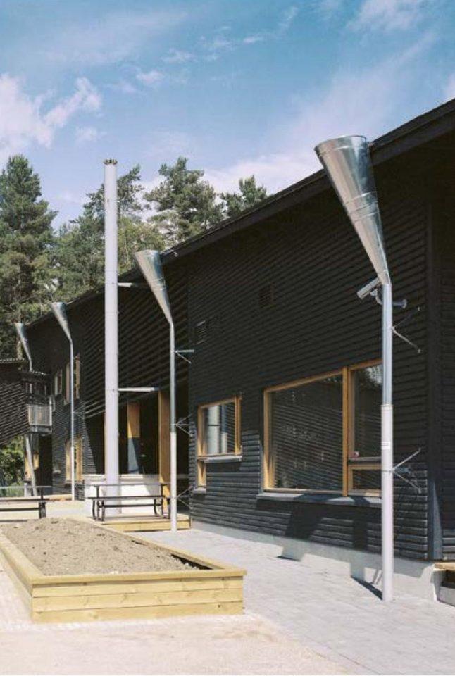 West elevation, Savotta Daycare Centre