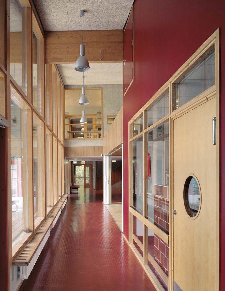 Corridor, Savotta Daycare Centre