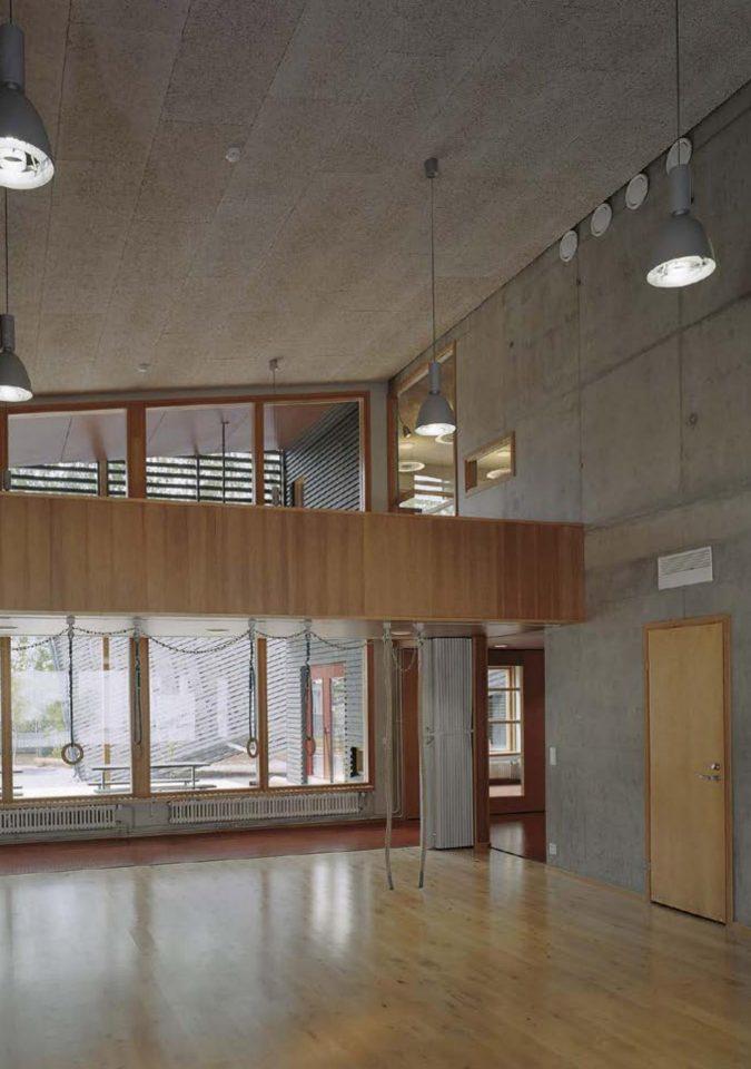 Entrance hall, Savotta Daycare Centre