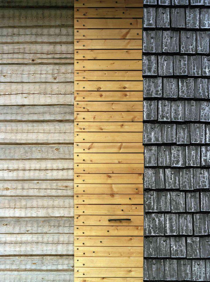 Selection of wooden building materials, Kärsämäki Shingle Church