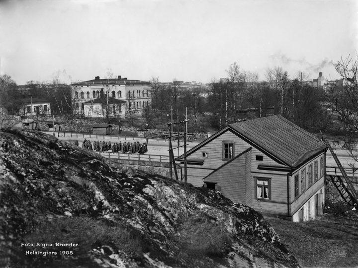 Villa Hakasalmi in 1908, Villa Hakasalmi