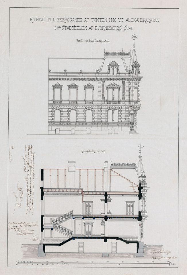 """Newander's house (""""Signe Castle"""")"""