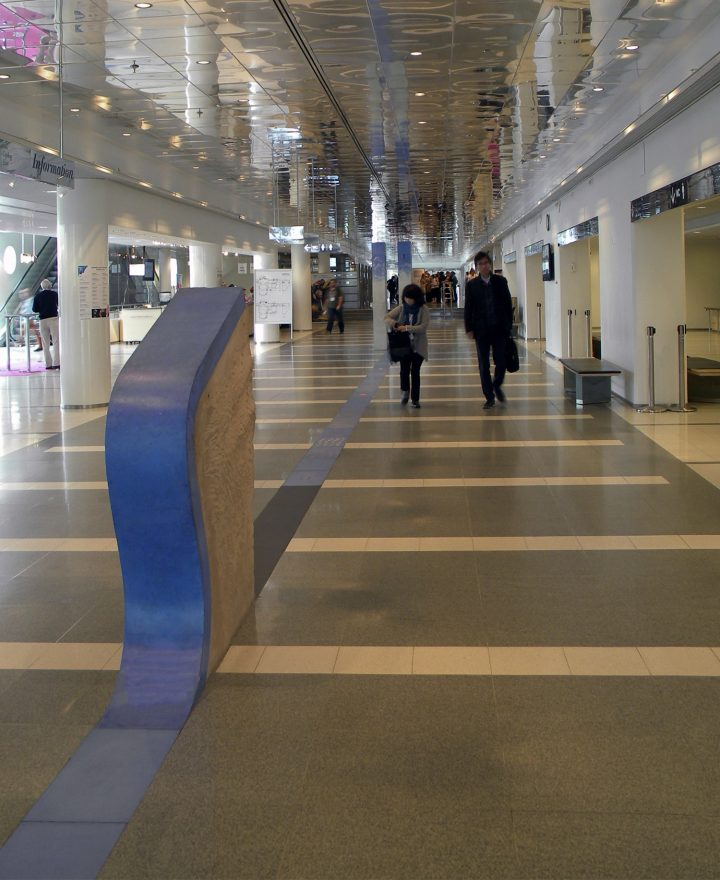 The main lobby, Tampere Hall